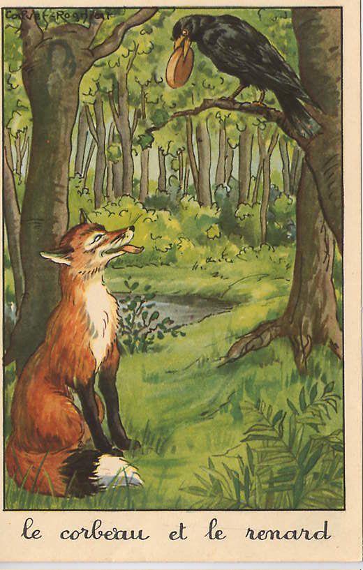 Je me lance Le-corbeau-et-le-renard