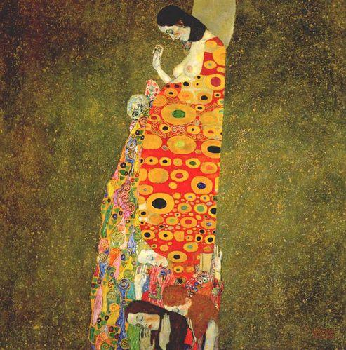 de l'art Klimt--Gustav---Hope