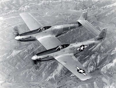 North American P-51 Mustang en quelques mots . North-American-twin-Mustang-P-82