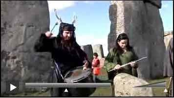 On aurait photographié Jésus. Stonehenge_druides