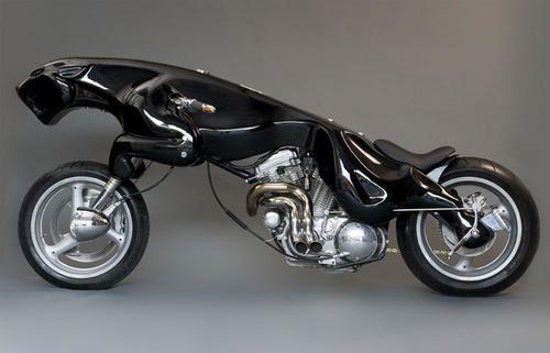 No limit à l'imagination pour les motos, Humour of course! - Page 3 Motojaguar