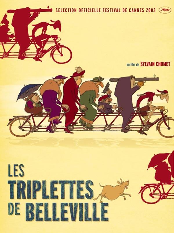 LES TRIPLETTES DE BELLEVILLE - 2002 - Affiche