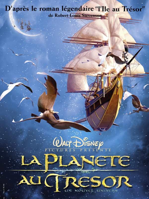 La Planète au Trésor - Un Nouvel Univers [Walt Disney - 2002] Affiche2