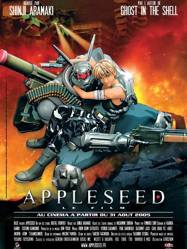 [Japanimation] Appleseed 1 et 2  18442954