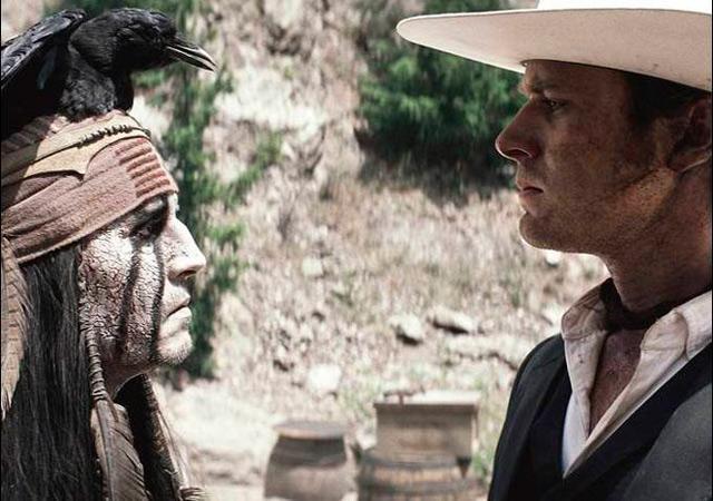 'El llanero solitario': nuevas imágenes de Armie Hammer y Johnny Depp 20597443