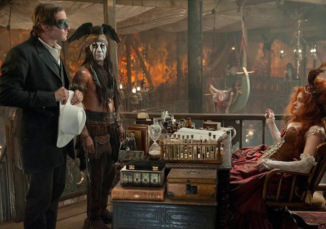 'El llanero solitario': nuevas imágenes de Armie Hammer y Johnny Depp 20597459