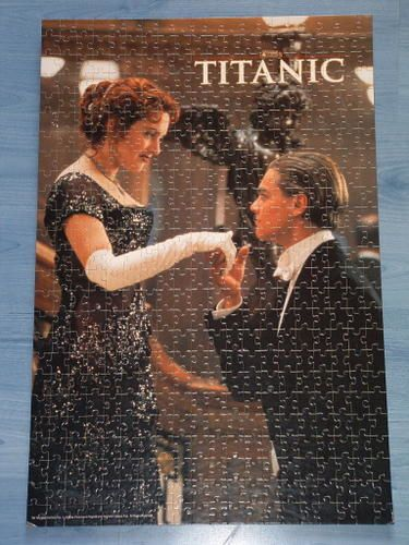 Puzzles Titanic Scene-film