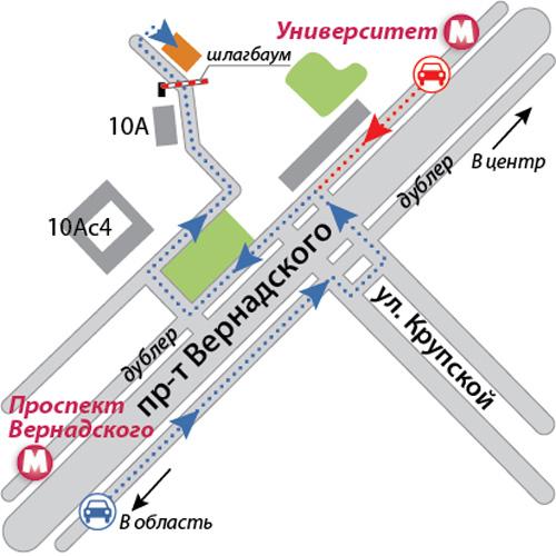 """Клубный технический центр """"AA-MOTORS"""" (Москва) Shema"""