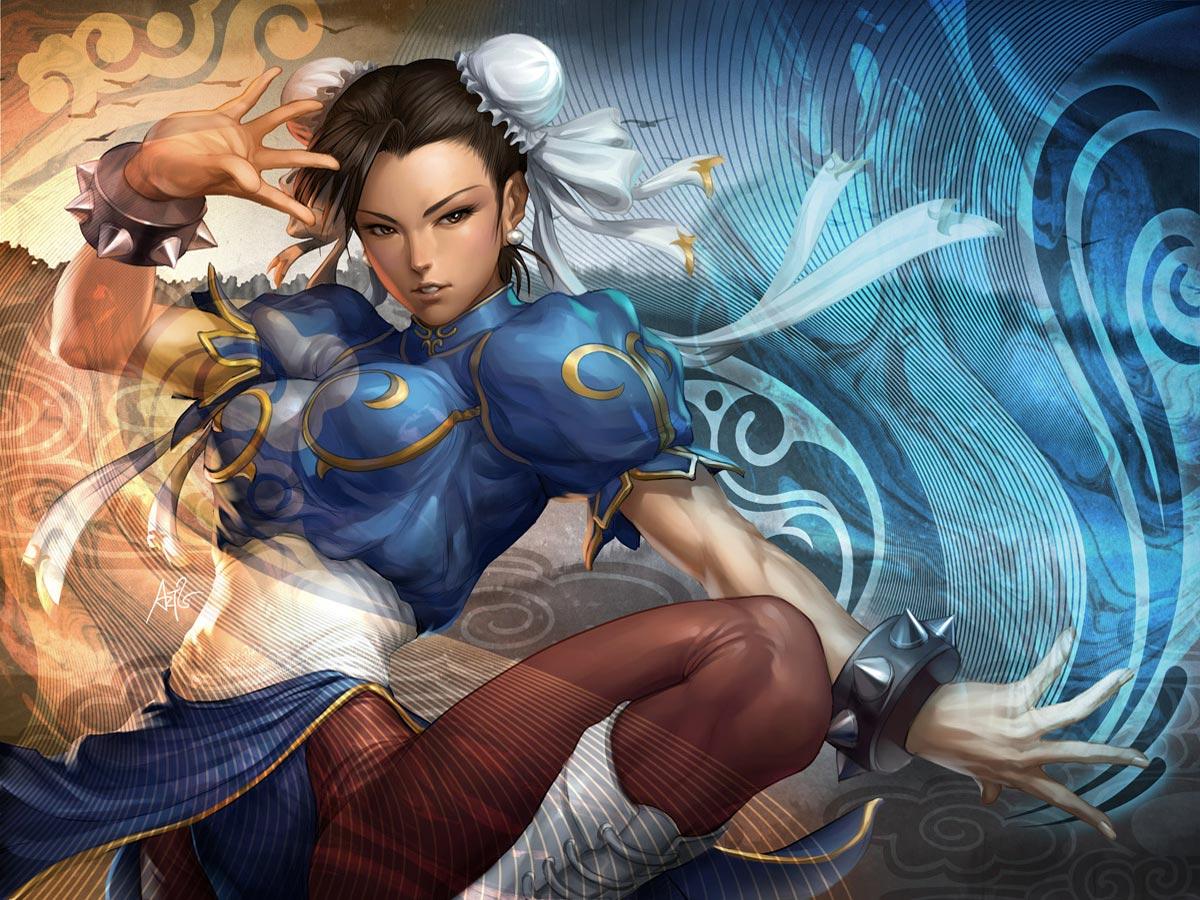 Les fonds écrans (Filles) Chun-li