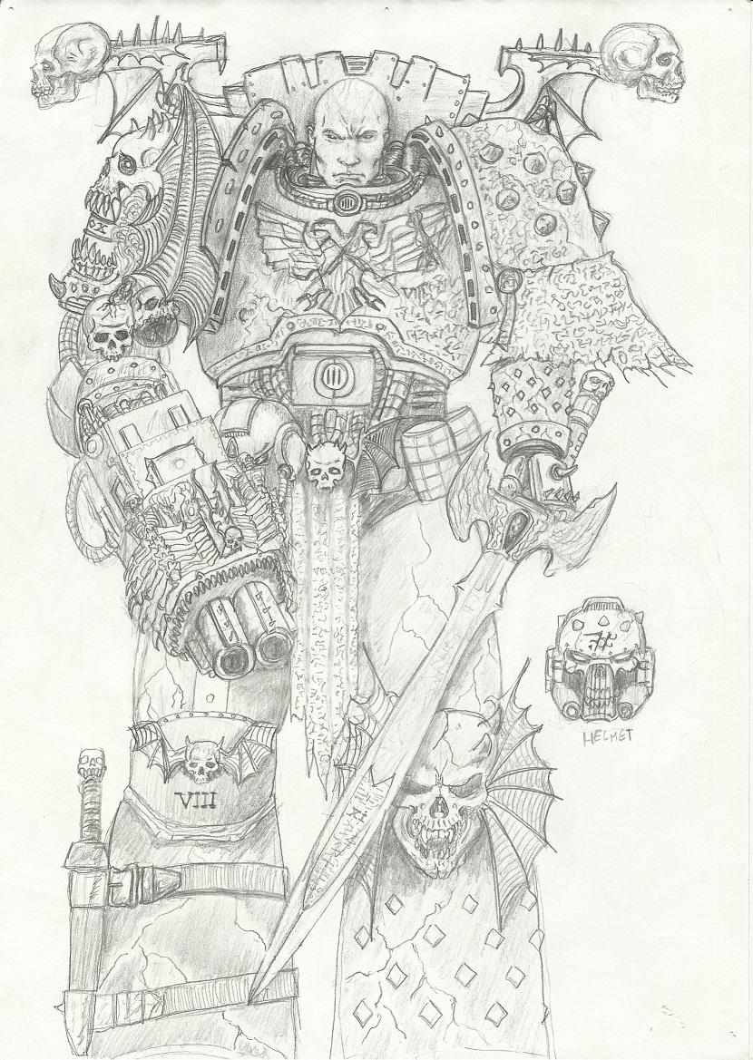 Un Roman des Night Lords : le Chasseur d'Âme d'Aaron Dembski-Bowden Talos-001