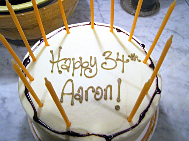 Happy birthday, AaronM! Aaron-birthday-cake