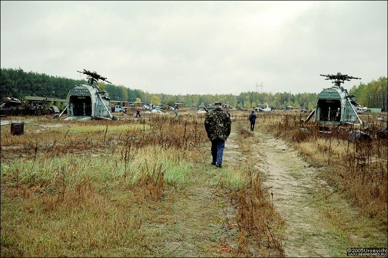 Base militar abandonada en Ucrania 03