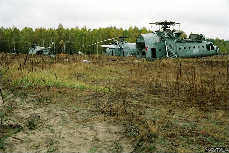Base militar abandonada en Ucrania 04