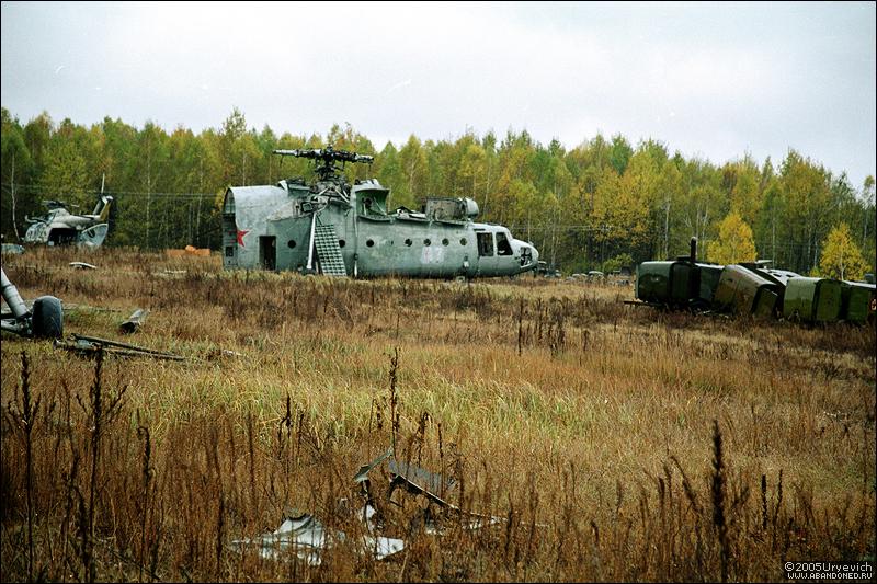 Base militar abandonada en Ucrania 05