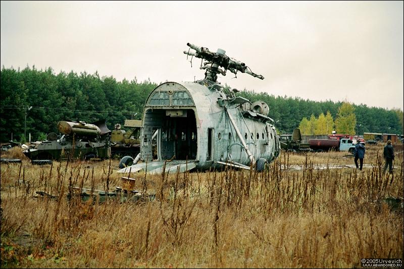 Base militar abandonada en Ucrania 06