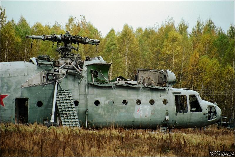 Base militar abandonada en Ucrania 07