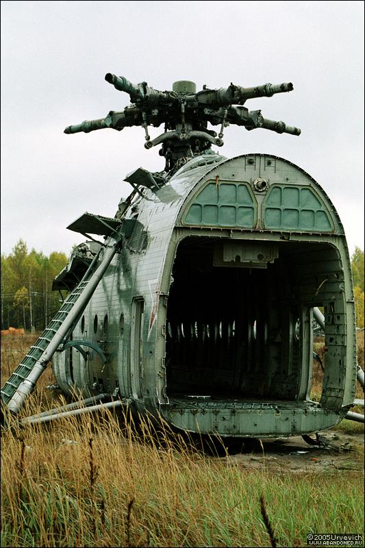 Base militar abandonada en Ucrania 08