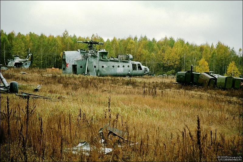 Base militar abandonada en Ucrania 10