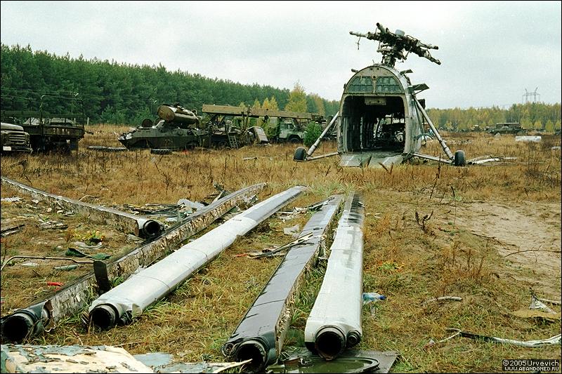 Base militar abandonada en Ucrania 11