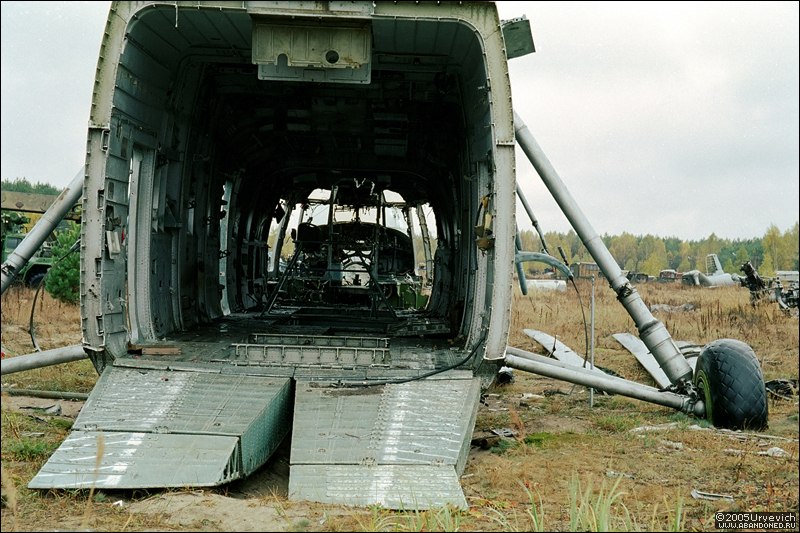 Base militar abandonada en Ucrania 12