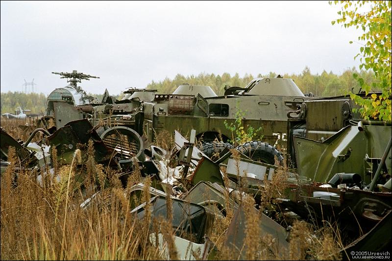 Base militar abandonada en Ucrania 16
