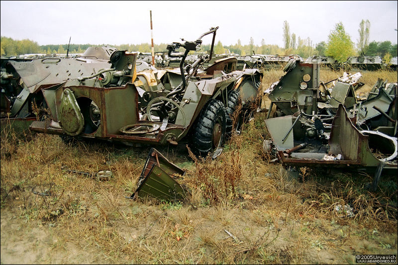 Base militar abandonada en Ucrania 17