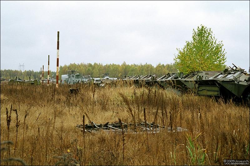 Base militar abandonada en Ucrania 18