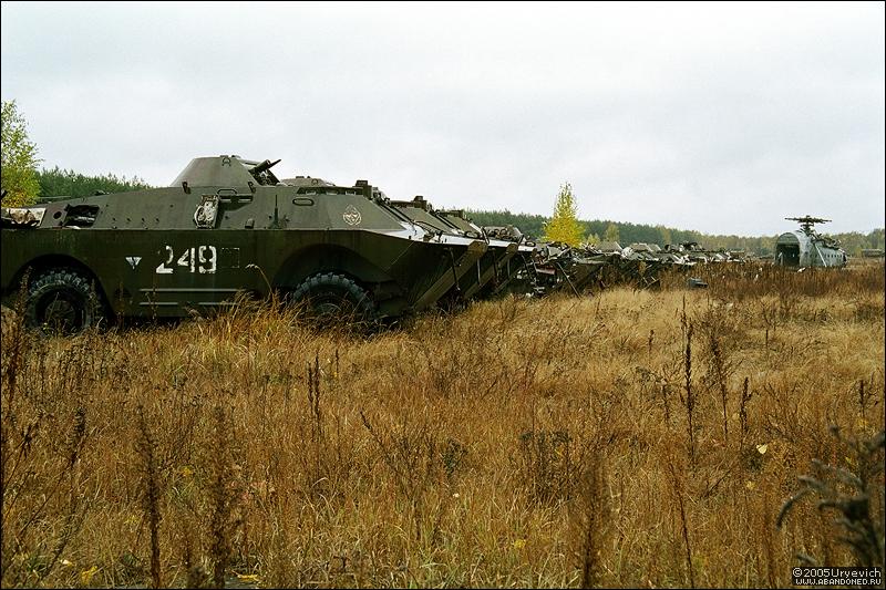 Base militar abandonada en Ucrania 19