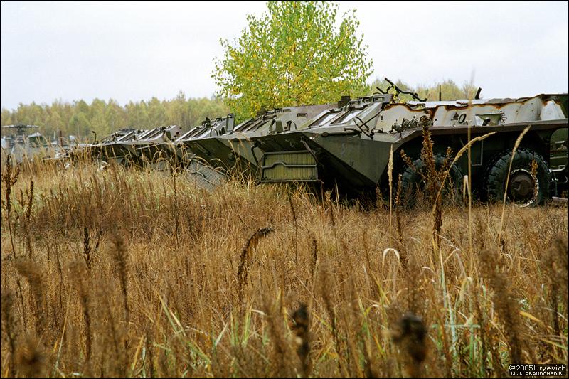 Base militar abandonada en Ucrania 20