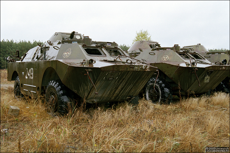 Base militar abandonada en Ucrania 21
