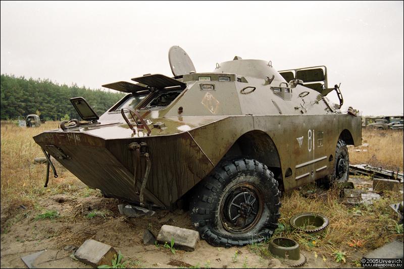 Base militar abandonada en Ucrania 22