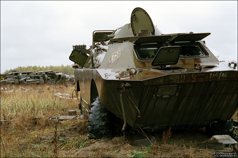 Base militar abandonada en Ucrania 23