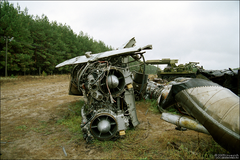 Base militar abandonada en Ucrania 25