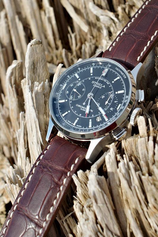 Bracelet alligator pour Dornblüth P132070113