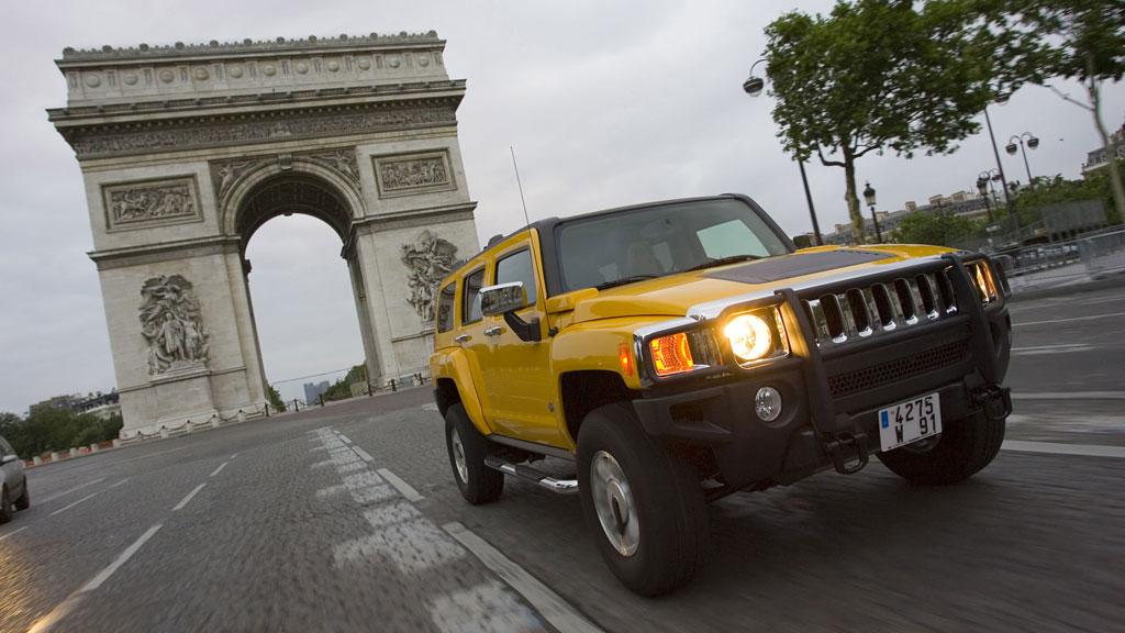 Qui est de Paris , de l'Île de France ou des régions voisines ? On se bougent un peu les Hummer ! Hummer-h3-paris