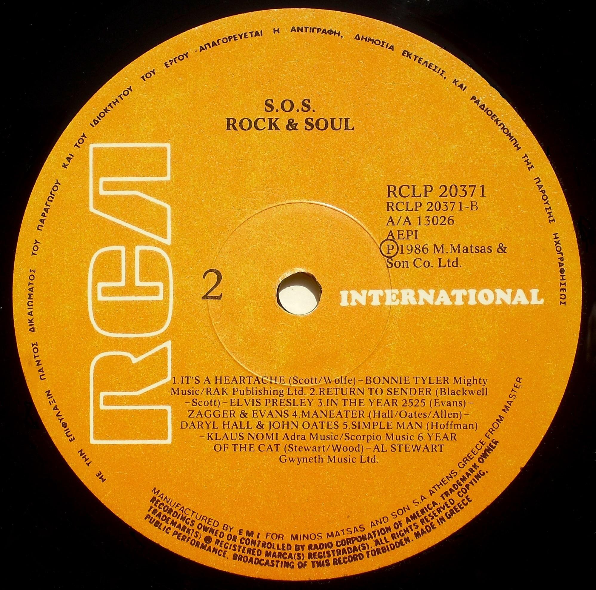 v.a. - S.O.S. ROCK & SOUL 03brwxh6