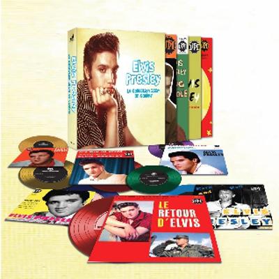 Elvis Presley - La Collection 25cm En Couleur 10epboxwok66