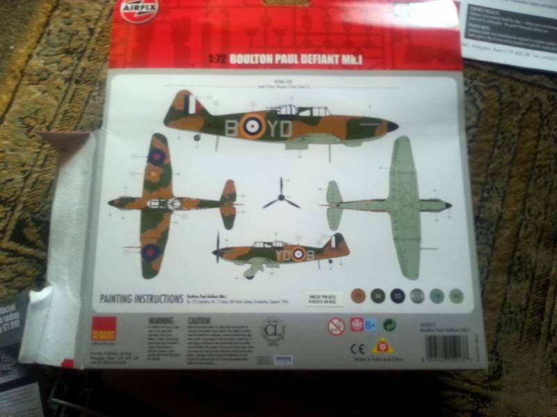 Boulton Paul Defiant von Airfix - Version 2.0 20151003_122410o5sm0