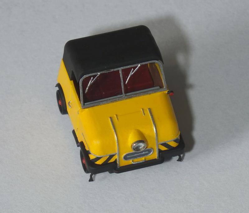 [H0] Das Gleiskraftrad Typ 1 von Kres, ein Schienentrabi für die BM 3.10x6kym