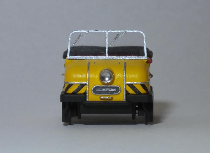 [H0] Das Gleiskraftrad Typ 1 von Kres, ein Schienentrabi für die BM 3.28ljkd