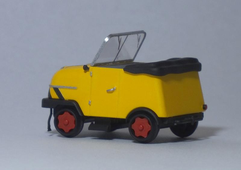 [H0] Das Gleiskraftrad Typ 1 von Kres, ein Schienentrabi für die BM 3.6kjj5q