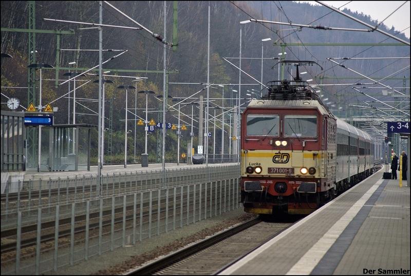 BR 371 (CSD) - BR 180 (DB) - Die Knödelpresse der CSD 371001ie53