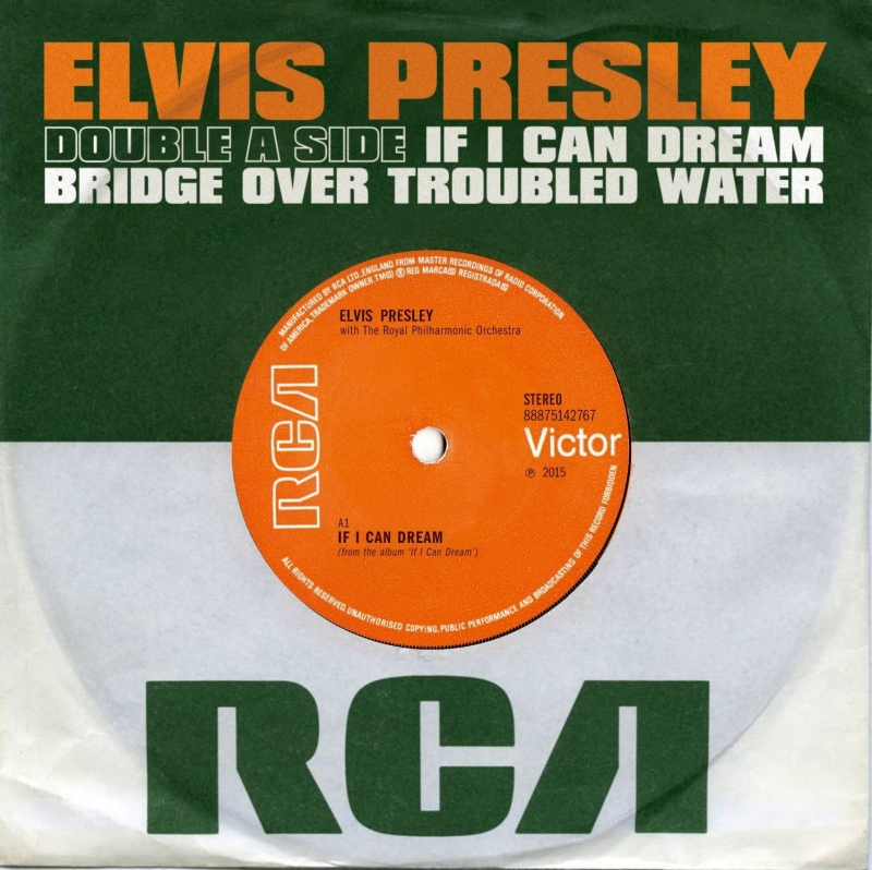 IF I CAN DREAM / BRIDGE OVER TROUBLED WATER 86815b6af4063768303e28wj9t