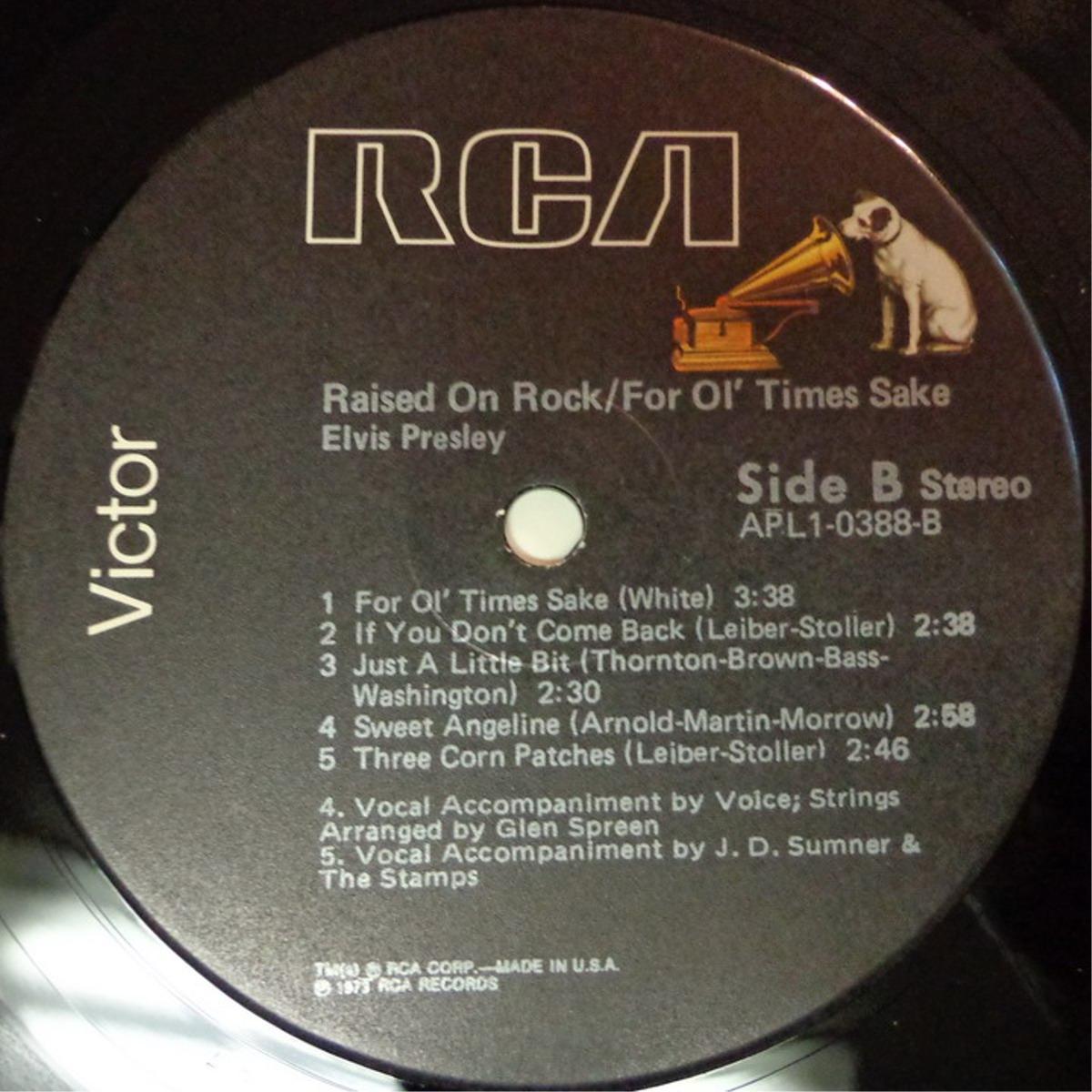 RAISED ON ROCK / FOR OL' TIMES SAKE Apl1-0388d7vsu4