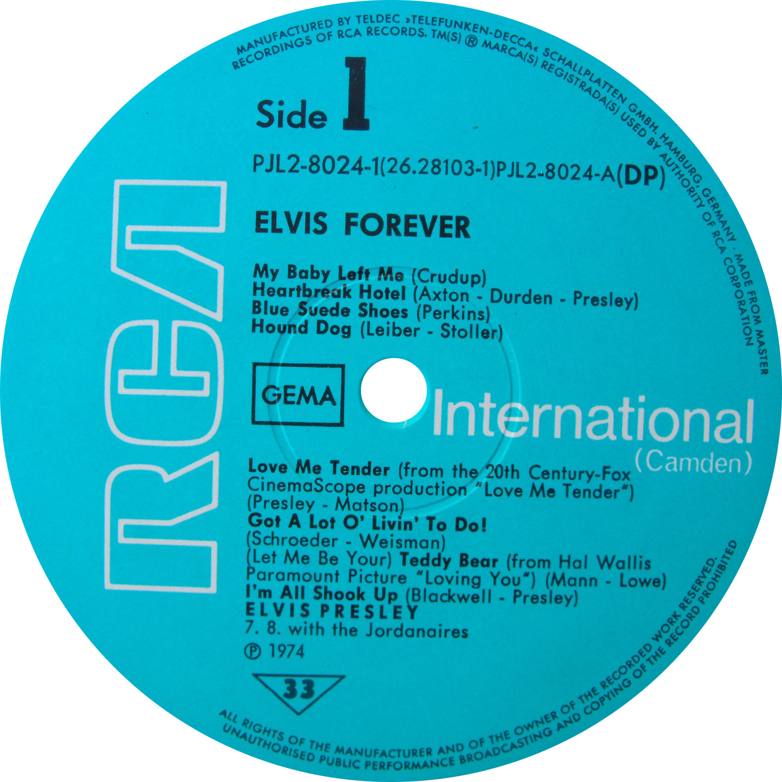 RCA LP-Label-Spiegel der Bundesrepublik Deutschland B3_a1atiyc