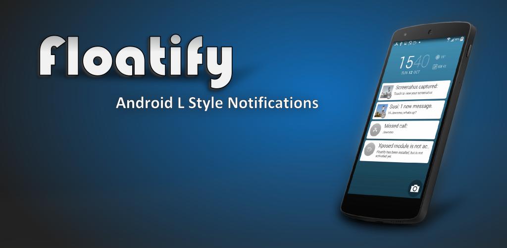 Aplikace [4.1+] Floatify v5.00 - oznámení L stylu Heads-Up Android Banner4newfunction2lms8c