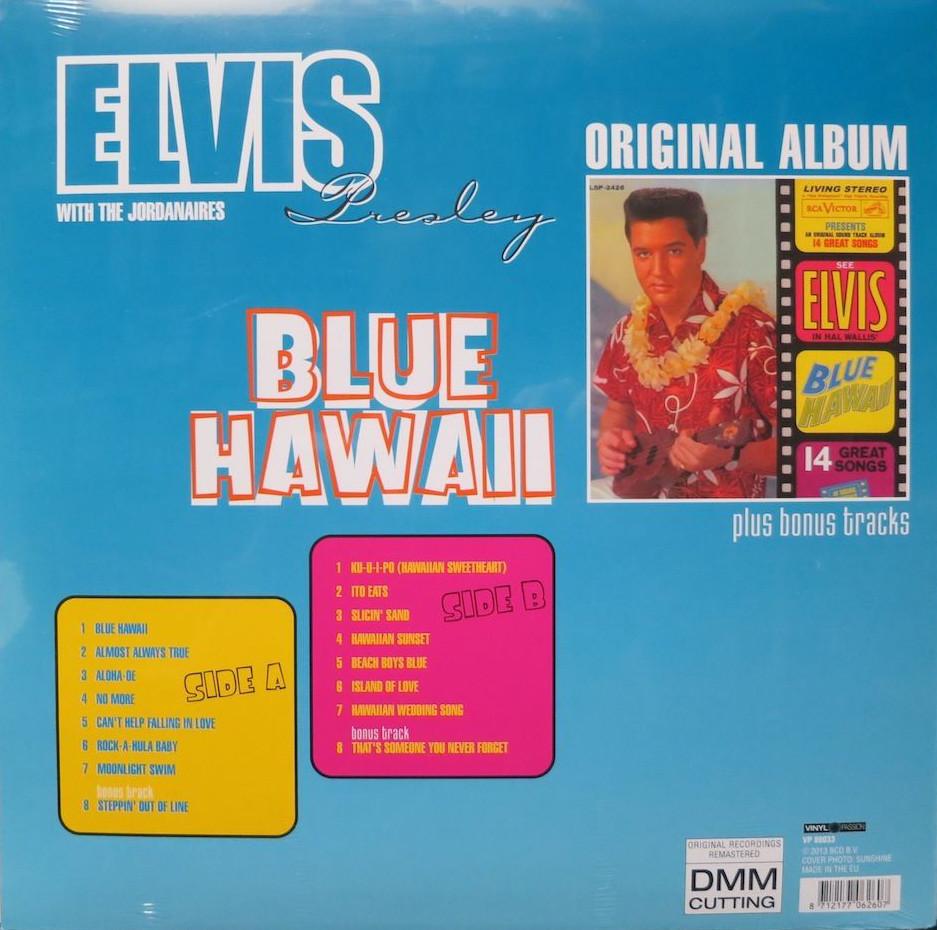 Elvis - Blue Hawaii: Original Album plus Bonus Tracks Bluehawaii2sqjed