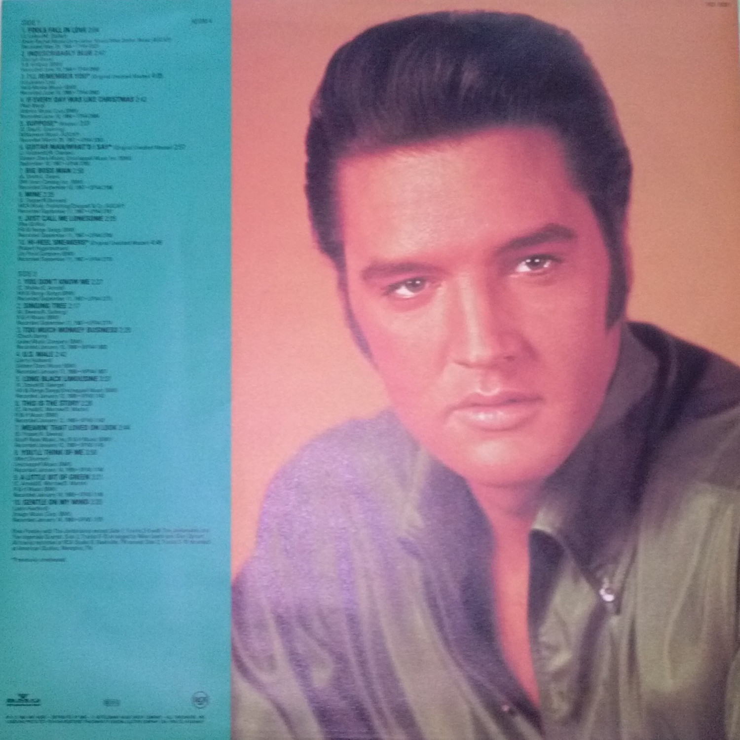 ELVIS - FROM NASHVILLE TO MEMPHIS - THE ESSENTIAL 60'S MASTERS Cam00107dlstb