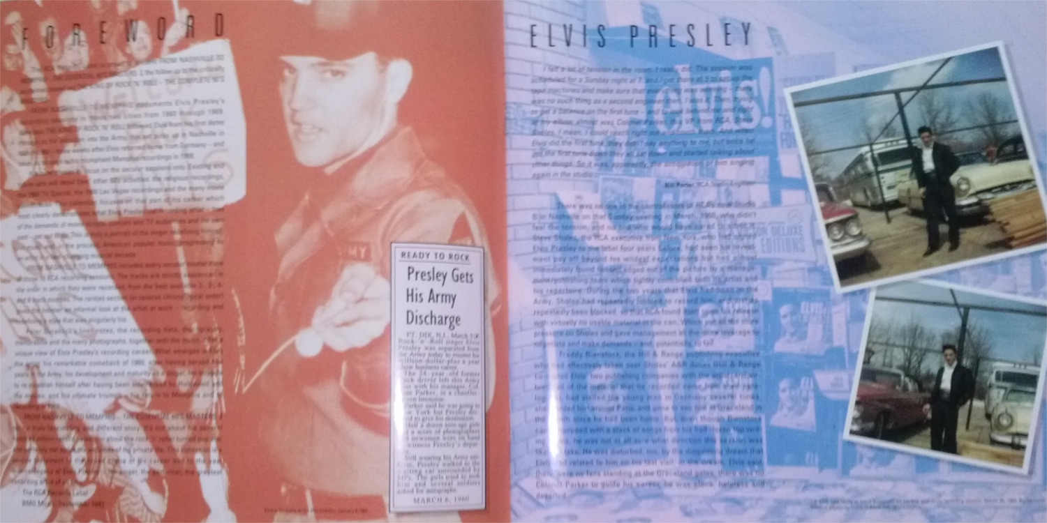 ELVIS - FROM NASHVILLE TO MEMPHIS - THE ESSENTIAL 60'S MASTERS Cam00116okzul