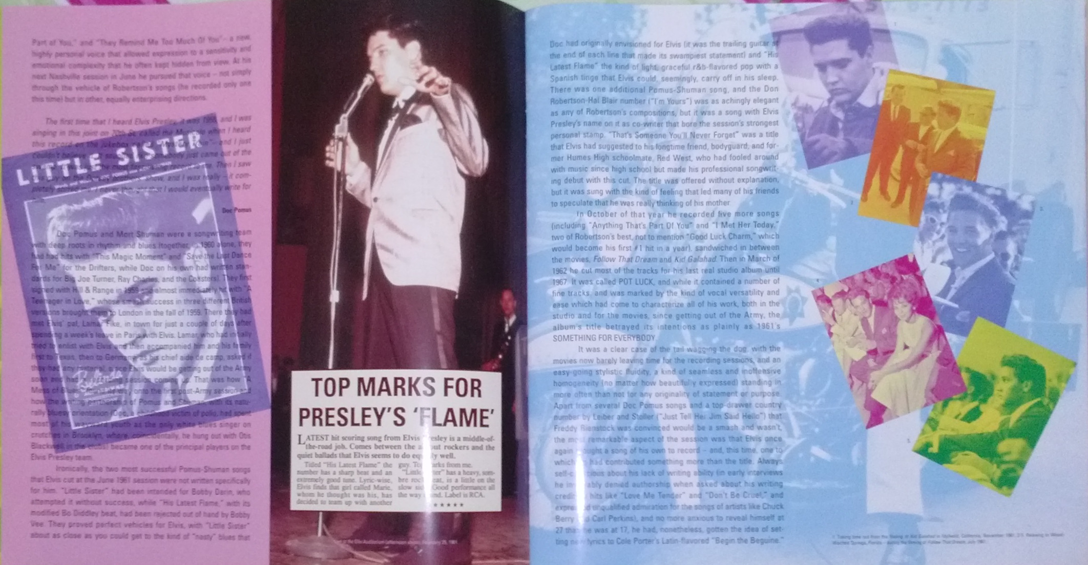 ELVIS - FROM NASHVILLE TO MEMPHIS - THE ESSENTIAL 60'S MASTERS Cam00120hml40